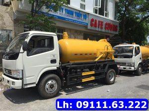 Hút bể phốt huyện Đức Thọ, Hà Tĩnh dịch vụ tốt nhất: 09111 63 222